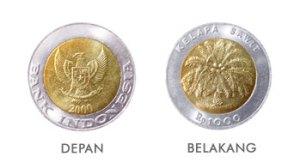 Uang 1000 rupiah 1993