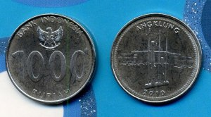 Uang Logam 1000 Thn 2010